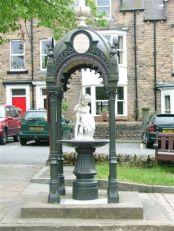 Bainbridge Memorial Fountain Creative Commons License, Mick Garrett