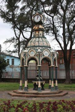 Da Gama Clock Fountain Creative Commons License, Clive Reid