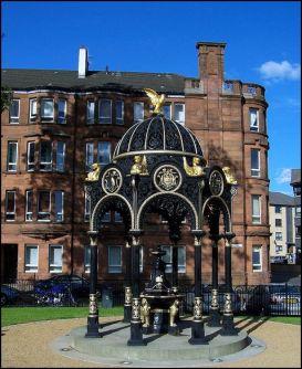 Bailie James Martin Memorial Drinking Fountain Creative Commons License Robert Orr