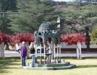 Burgersdorp Jubilee Fountain Used with permission Source: http://www.fad.co.za/Resources/scot_iron/scottish.htm, Photographer Arthur Gammage