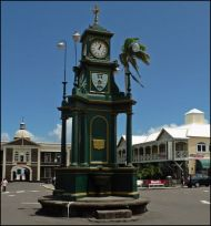 Berkeley Memorial Fountain Used with permission, http://historicbasseterre.com/Article1.asp?AID=7\