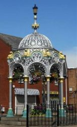 Coronation Fountain Used with permission Jennifer Lawler Source: http://www.flickr.com/photos/hspall/7858193928/in/pool-604218@N22/