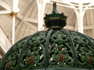 Fountain in National Museums, Scotland Crown finial