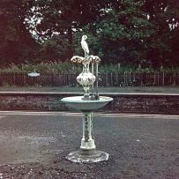 Pitlochry Railway Station Fountain Creative Commons License, Rosser Source: Wikimedia