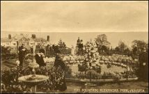 Penarth Fountain 1915 Postcard Source: Penarth Parks