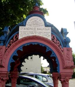 Dr. Balfour Memorial Fountain