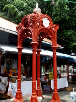Fountain at Dawbiney Market Square http://www.tripomatic.com/Dominica/Canefield/Roseau-Historical-District/