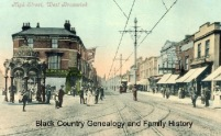 Elizabeth Farley Memorial Fountain Circa 1905. Used with permission, Source: Black Country Genealogy