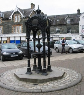Breadalbane Drinking Fountain Source: geograph.org.uk Creative Commons License, David Green