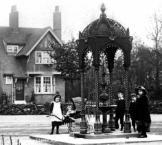 Billaney Memorial Fountain 1904 Source: Paul Gibson, used with permission