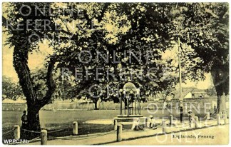 Bent Vermont Fountain Circa 1908. Copyright Malcolm Wade
