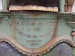 Edward VII Marriage Fountain Source: Waymarking.com