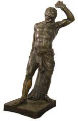 Sidney Fountain Statue of Samson. Source: Staffordshire Past Track Service
