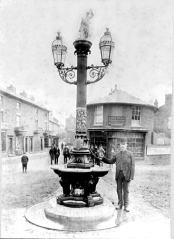 Sidney Fountain 1889 Gaol Square. Source: Staffordshire Past Track Service