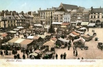 Market Square Fountain 1900 postcard. Source: Northants Family History