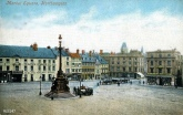 Market Square Fountain 1903. Source: Northants Family History