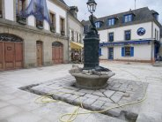 Crocodile Fountain 2011. Source: Facebook/Tourisme Concarneau
