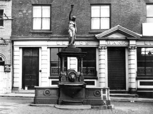 Polly on the Fountain Used with permission, Dr. Terry Daniels. Source: Oldbury Local History Group