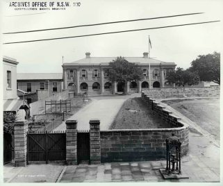 1901 Princes Street near Public School. Source: State Records Authority New South Wales