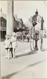 Year 1924. Princes Street near Fort Street School