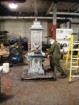 Restoration by Stewart Iron Works, Kentucky. Source: http://thebabylonvillagefountain.blogspot.ca/