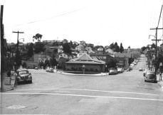Circal 1960, fountain does not exist. Source: Point Richmond History Association