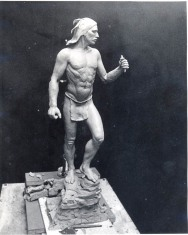 Model of new statue. Source: Point Richmond History Association