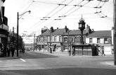 Circa 1960 Effingham Square. Source: Facebook/Rotherham Stuff