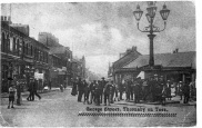 1900 image. Source: https://rememberingthornaby.wordpress.com/2011/04/02/thornabys-five-lamps-picture-gallery