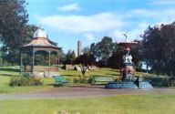 Bandstand and Fountain