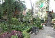 Foro Cultural Coyoacanense Hugo Arguelles courtyard