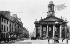 Year 1886 Market Street. Source: https://www.francisfrith.com/lancaster/photos
