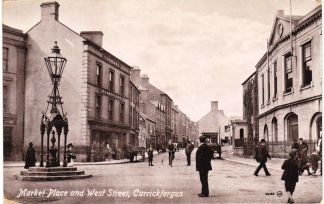 Circa 1905. Source: Facebook/OldCarrickFergus