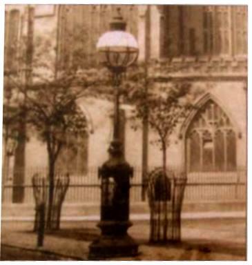 Large globe lantern