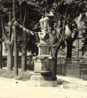 Circa 1894. Source: http://www.waymarking.com/waymarks/WM5RK0_Horse_Fountain_Lakewood_NJ