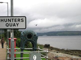 Creative Commons License. Source: https://en.wikipedia.org/wiki/Hunters_Quay#/media/File:2008-08_-_Plum_Island_and_Cowal_Games_533.jpg